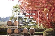 Mornington Peninsula listed in the top 20 wine holiday destinations