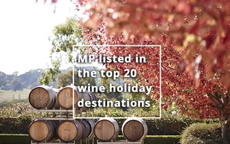 Mornington Peninsula listed in the top 20 wine...